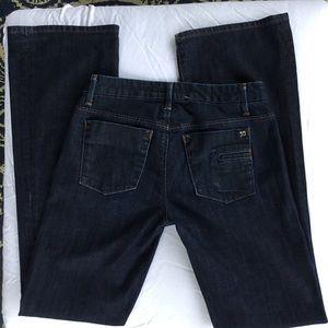 Joes Jeans Wide Leg Muse In Jett Wash
